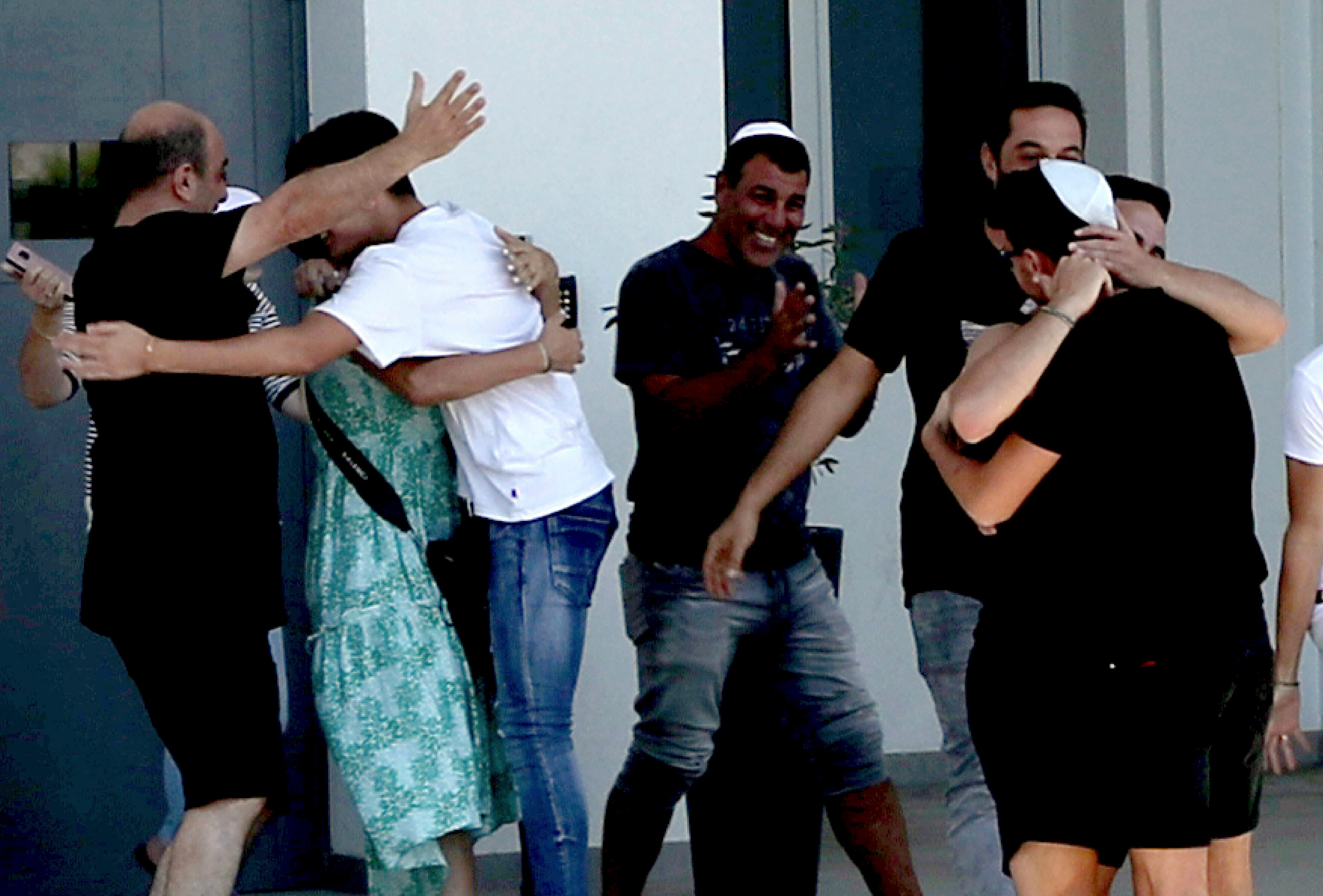 Some of the accused teens celebrated with champagne and chanted 'the Brit is a whore' after the ruling