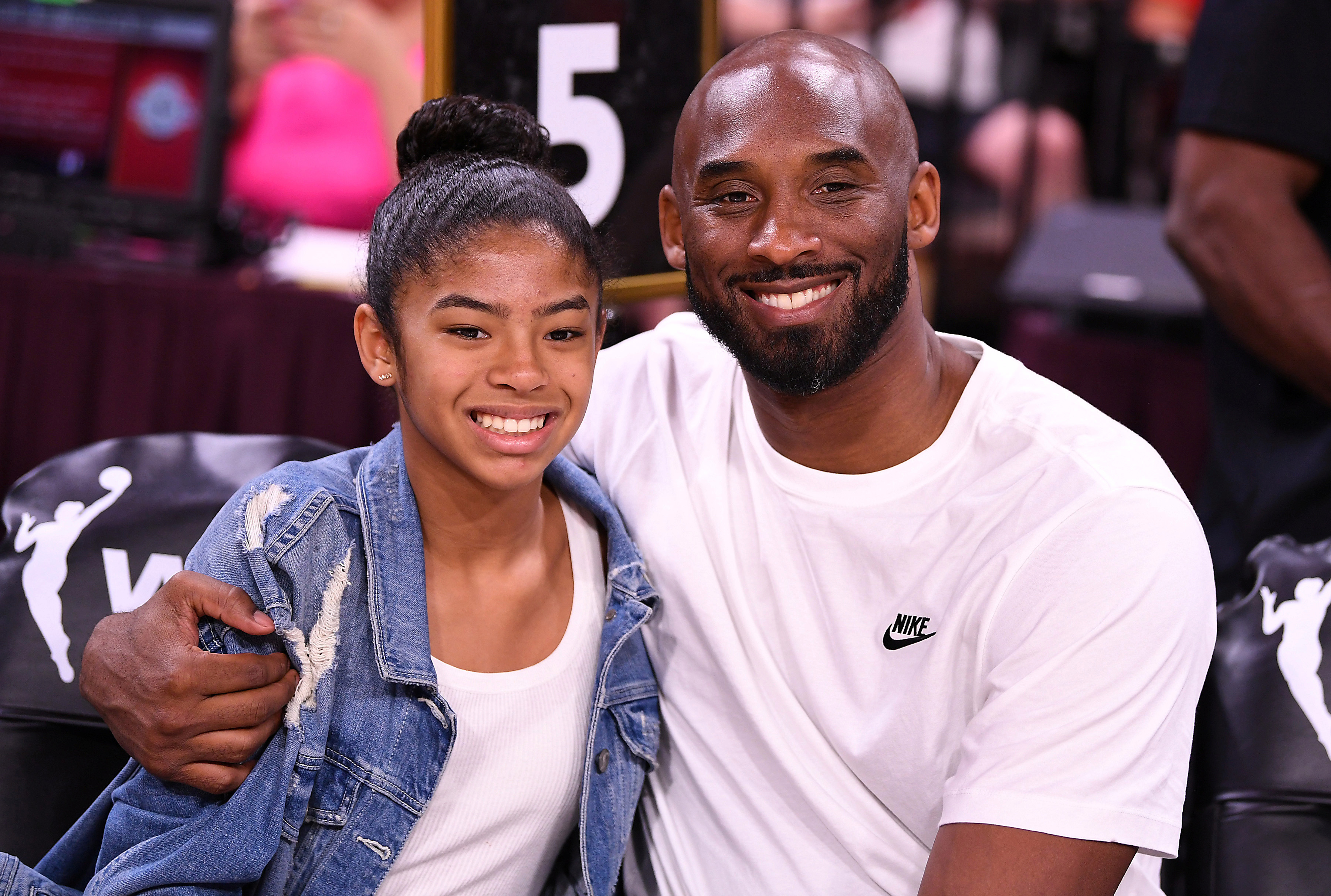 Bryant and his daughter bonded over their love for basketball