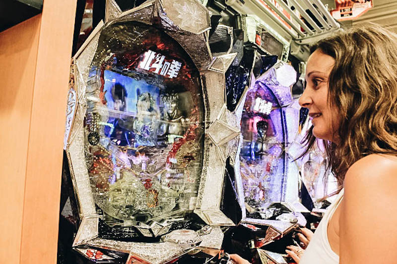 Pachinko Parlor: a Tokyo Attraction