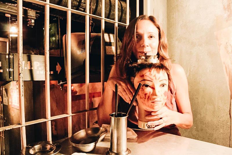 Alcatraz ER themed Restaurant in Tokyo Japan