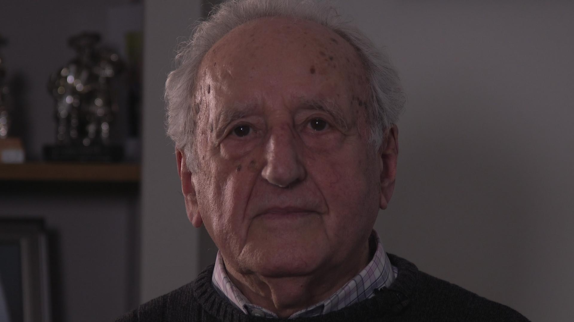 Ivor Perl, 87, was taken to Auschwitz aged just 12