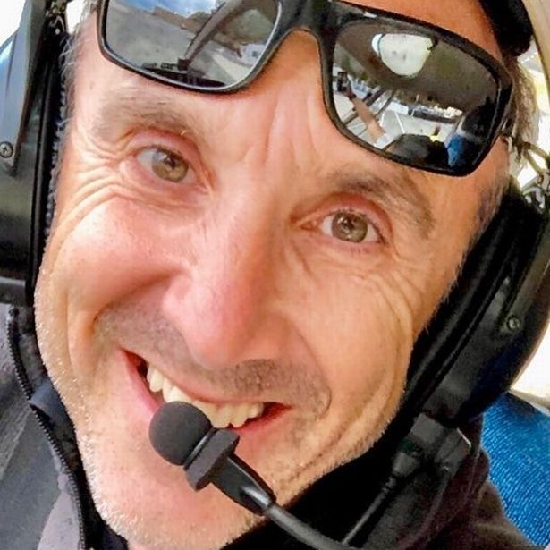 Ara Zobayan, 50, was flying the helicopter that crashed in California yesterday