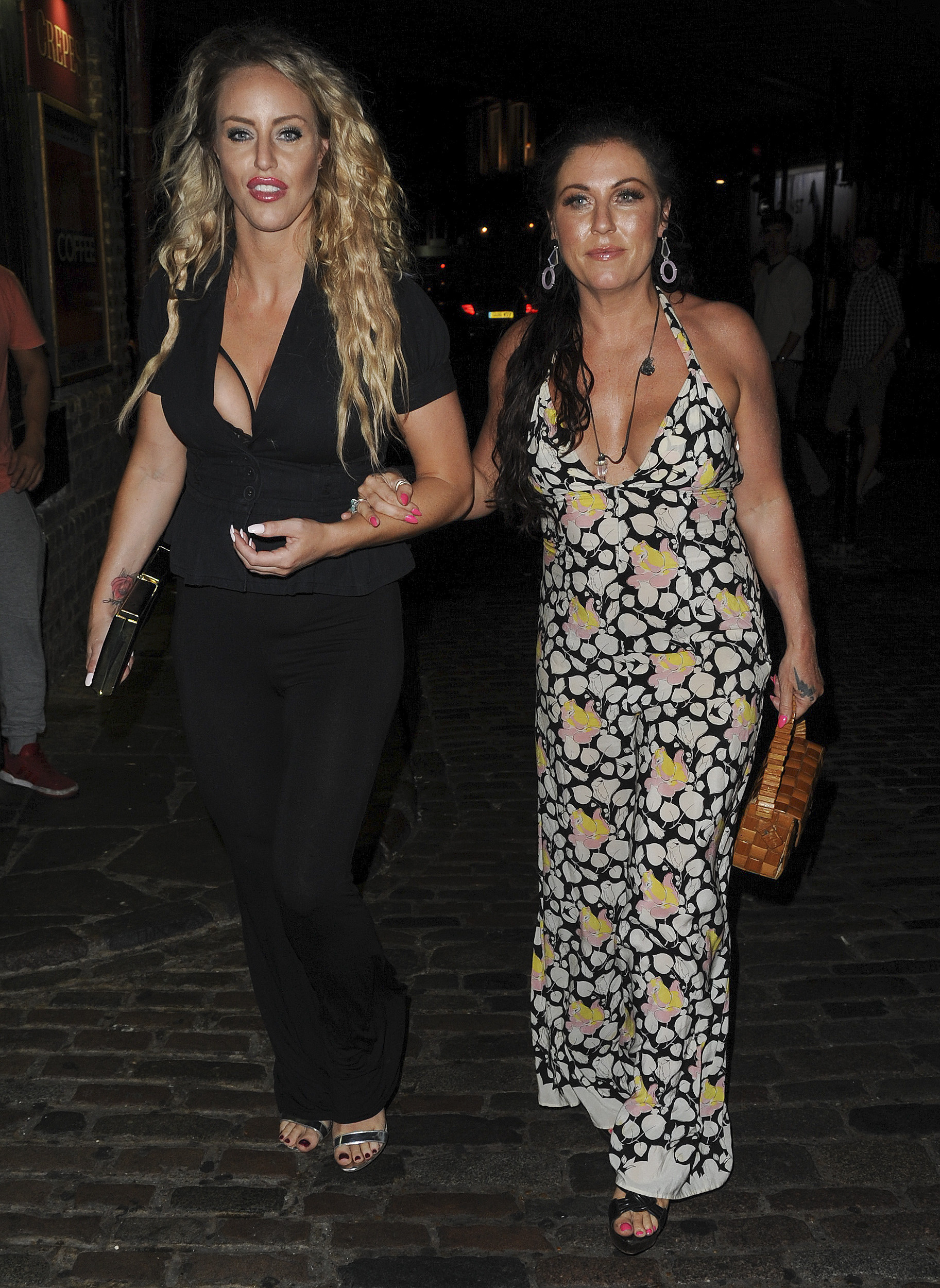 She and half-sister Danielle Mason had been celebrating the end of their ten-year feud