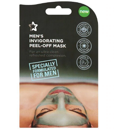 Superdrug Invigorating Peel Off Face Mask for Men