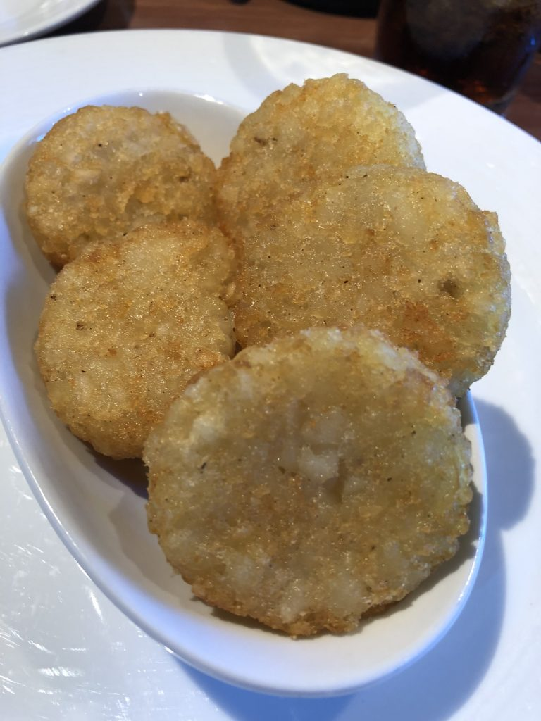 Are Carnival Cruises Vegan Friendly? - Hash Browns from Sea Day Brunch on Carnival Horizon