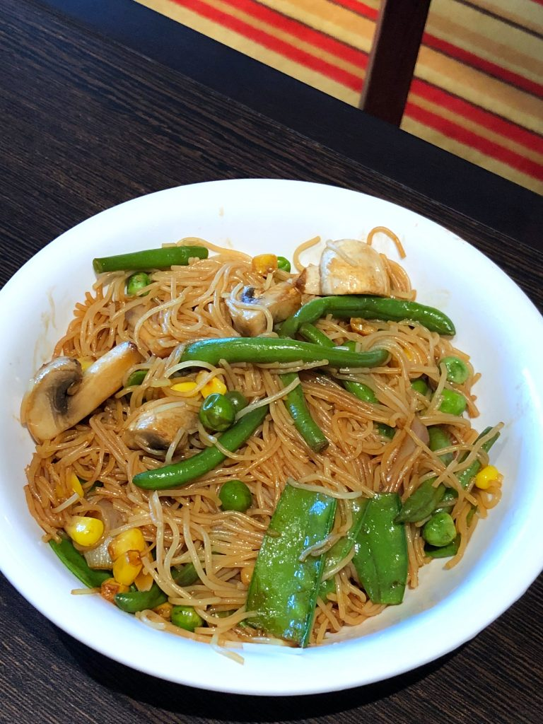 Are Carnival Cruises Vegan Friendly? - Stir Fry from JiJi Asian Kitchen on Carnival Horizon