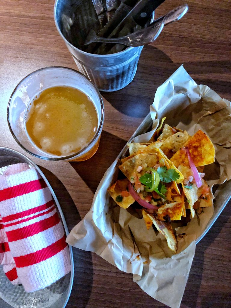 Are Carnival Cruises Vegan Friendly? - Trash Can Nachos from Guy's Pig and Anchor Smokehouse Brewhouse on Carnival Horizon