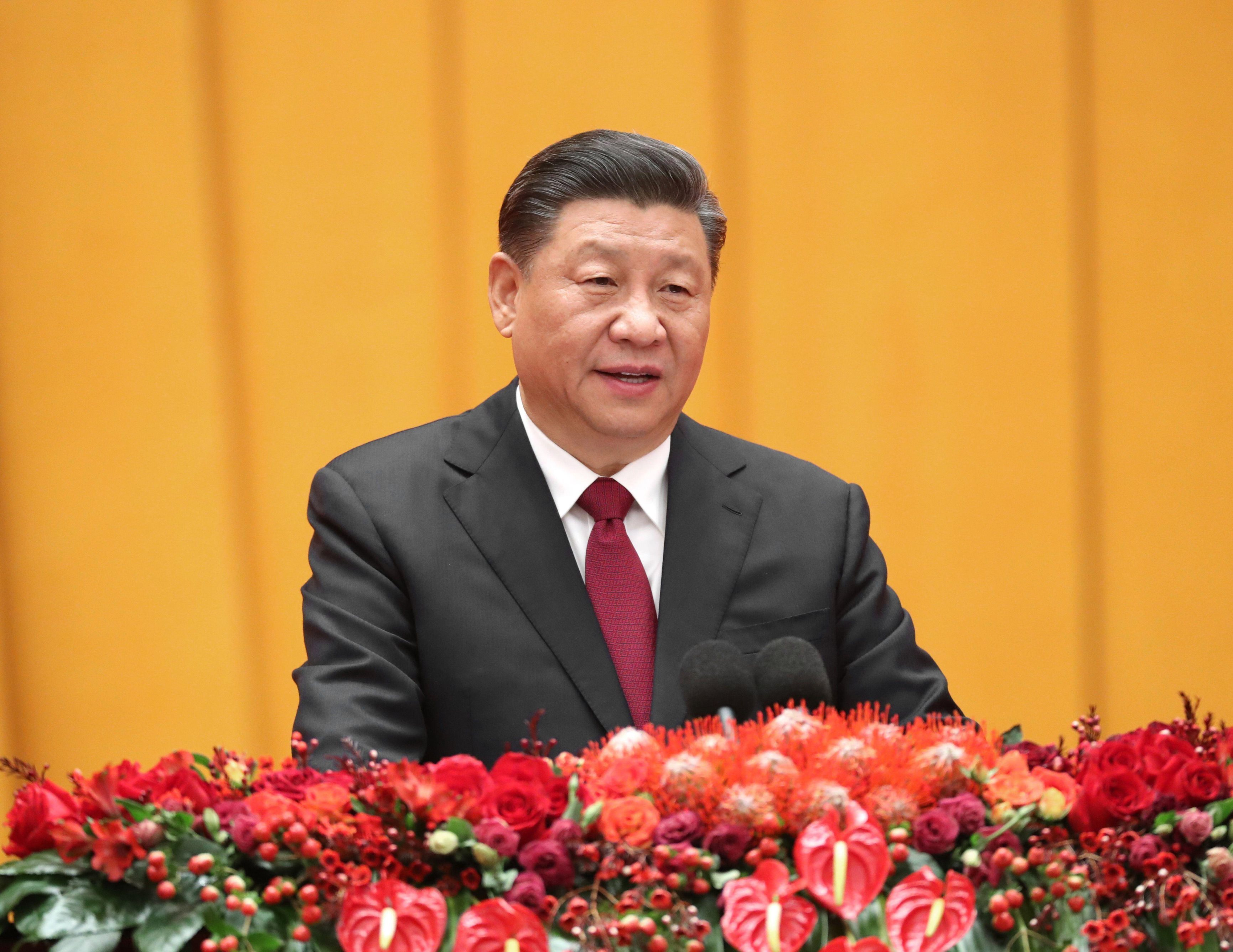 Chinese president Xi Jinping branded coronavirus the 'devil' at a press conference today