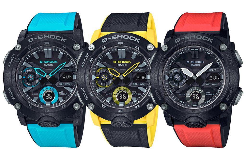 G-SHOCK-GA-2000-Series-models