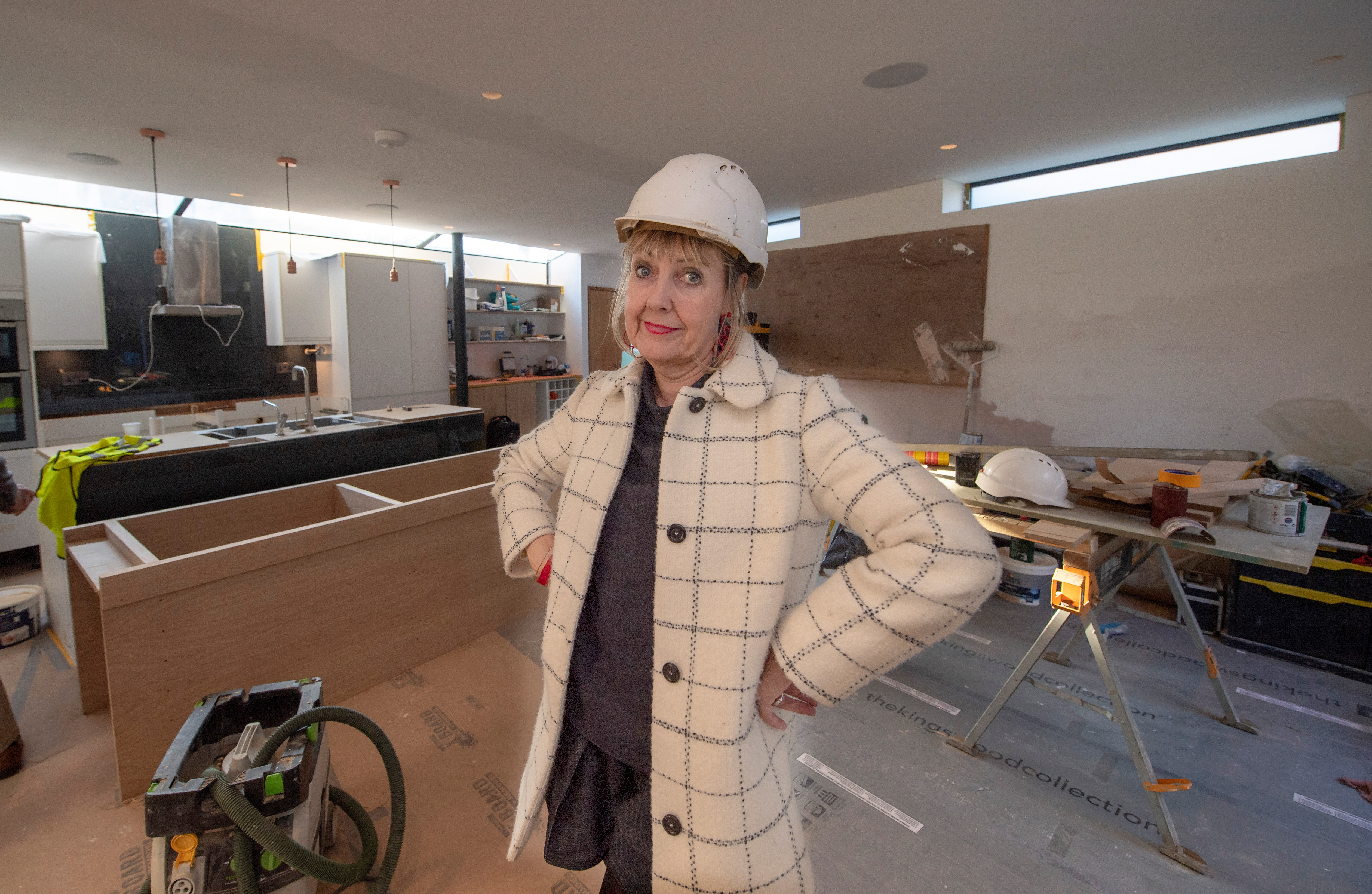 Convicted defrauder's residential property growth company transformed Aggie MacKenzie's ₤770 k desire residence right into a 'house of horror'