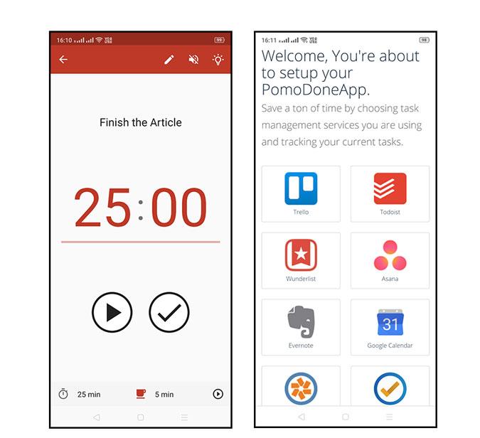 Pomodone App