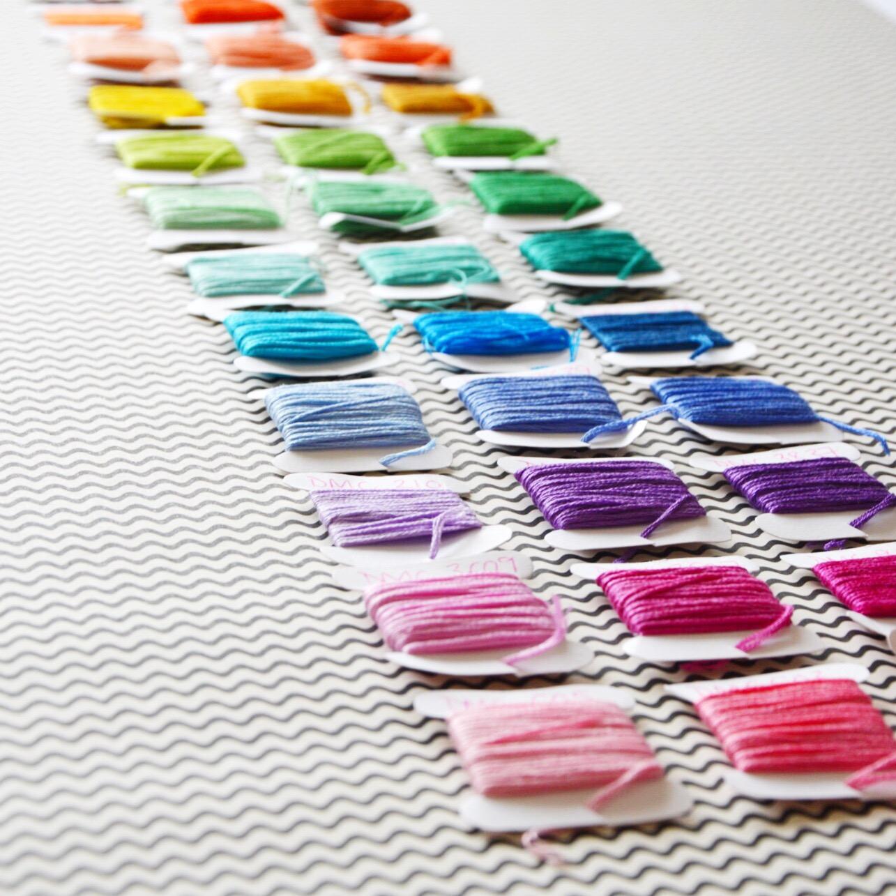 Rainbow thread | Hello! Hooray!