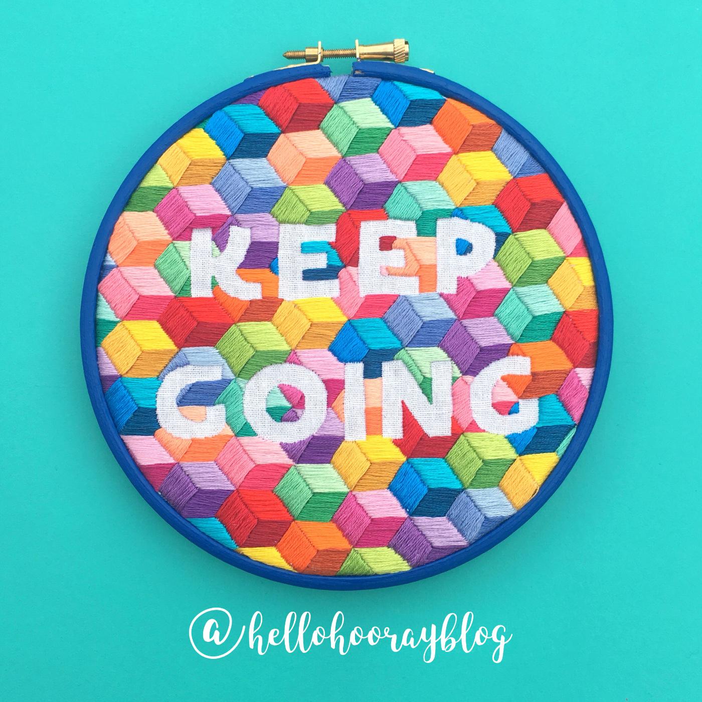 Keep Going hoop | Hello! Hooray!