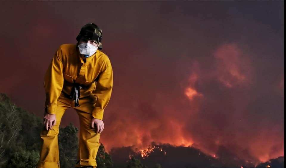 Brave India MacDonell, 19, tackled fires that threatened to engulf their home