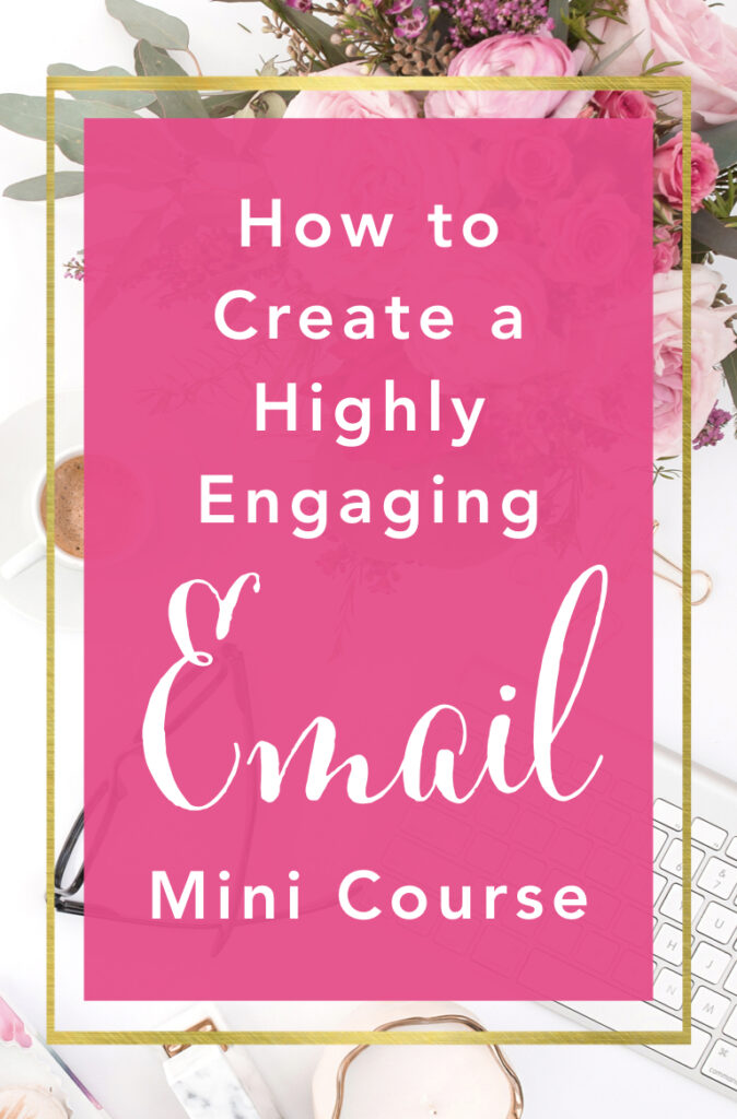 Are you struggling to get happy, engaged subscribers onto your email list? Maggie Frank-Hsu has the perfect solution — an email mini course! Learn how to keep your brand new subscribers engaged, excited to open your next email, and encouraged to learn even more from you because of the quick win you've given them.