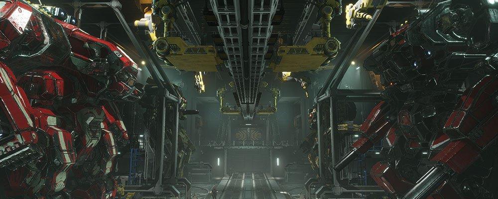 mechwarrior 5 hangar