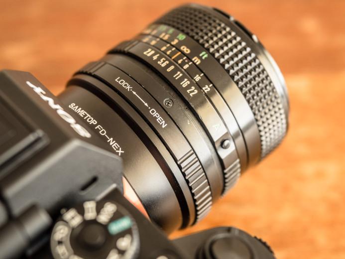 Sametop Canon FD/NEX Lens Adapter