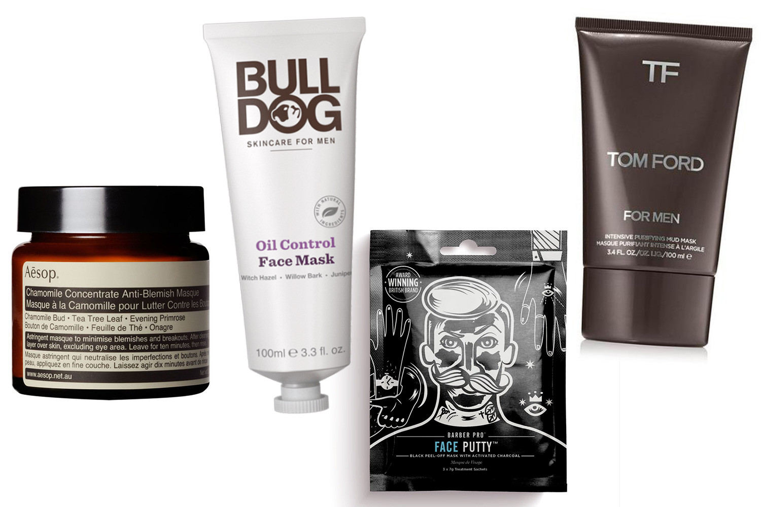 The best men's face mask will brighten up skin and clear away blemishes, from brands like Bulldog and Aesop