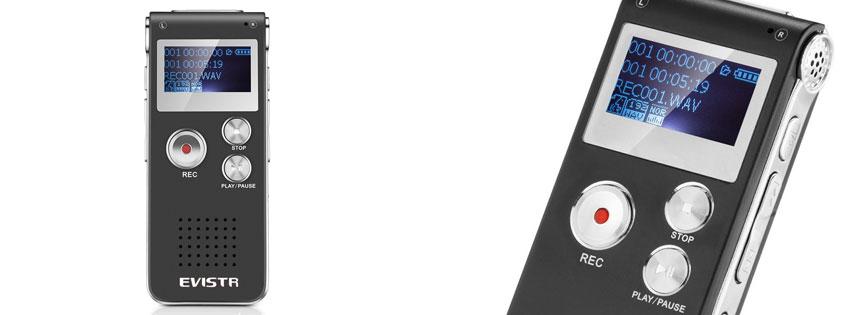 EVISTR Mini Digital Voice Recorder