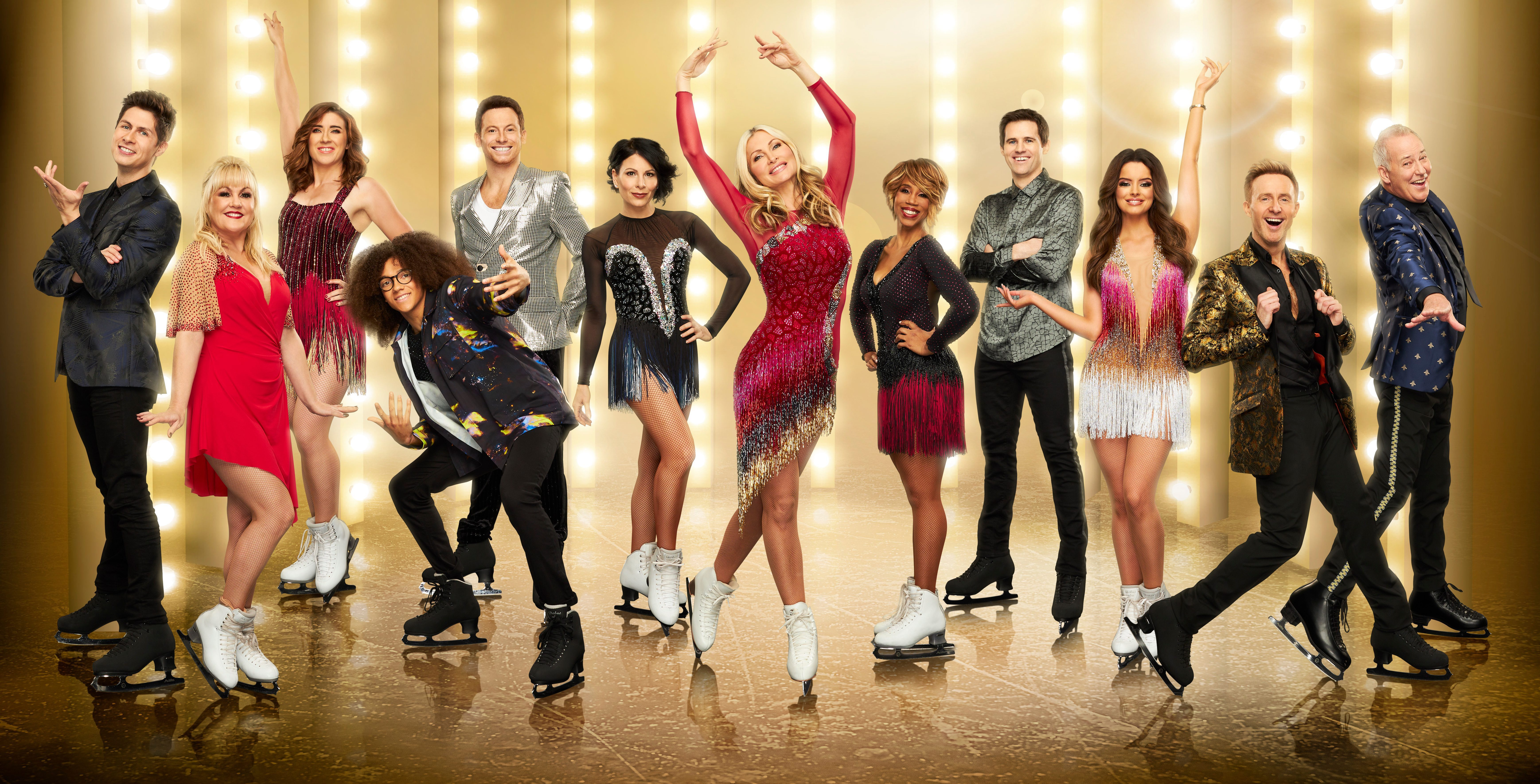 When does Dance On Ice 2020 beginning as well as that ' s in the line-up?