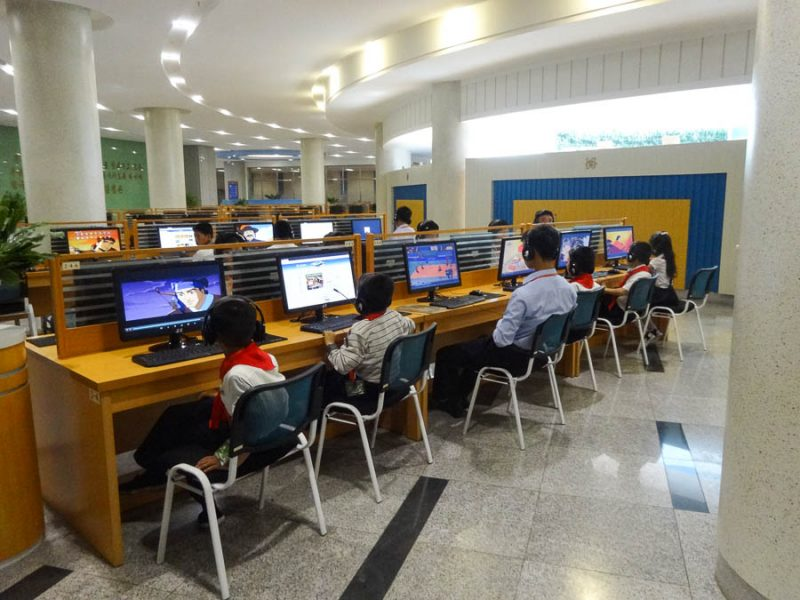 Kids Using The Intranet