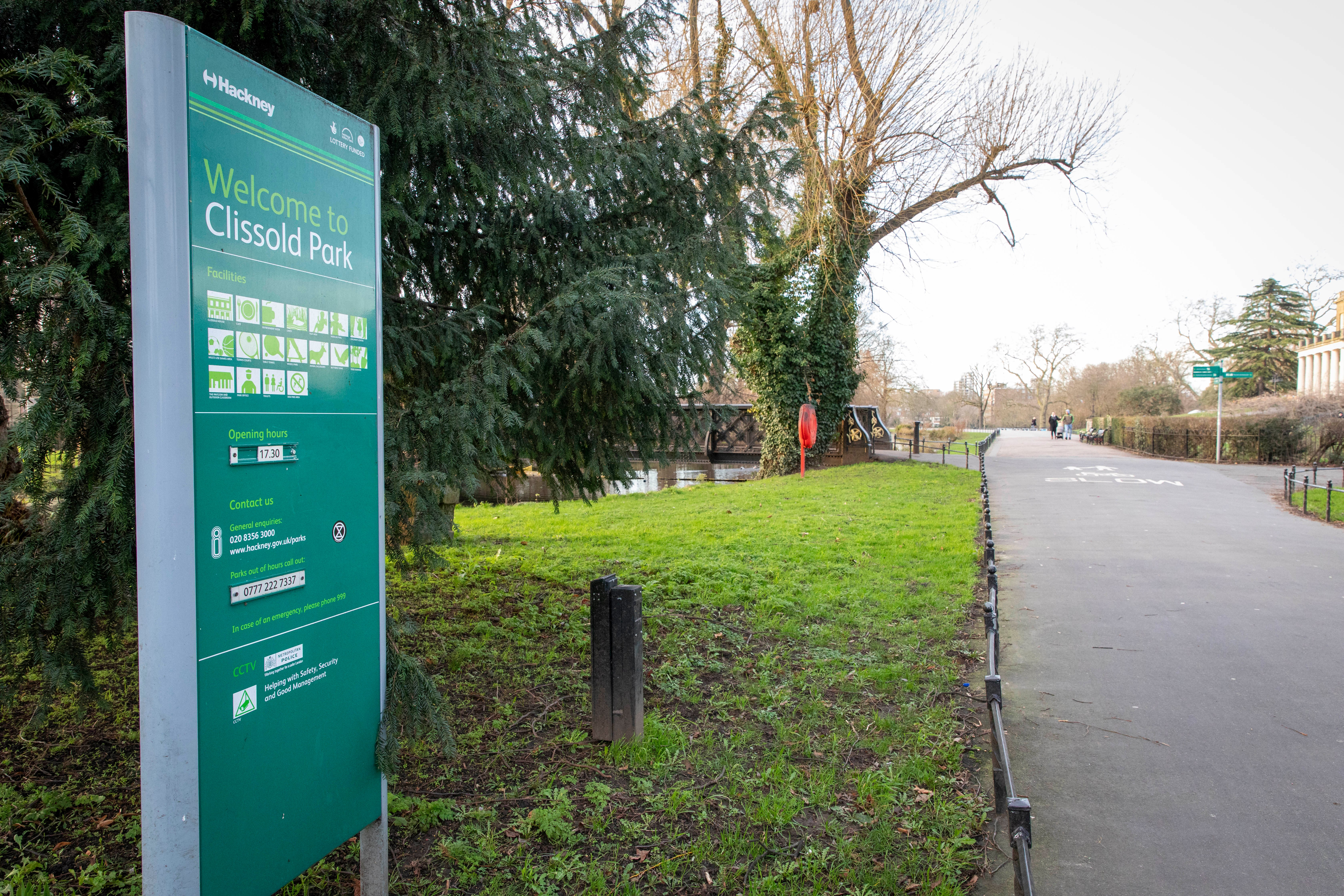 Mrs Corner said her son was mugged in Clissold Park in Stoke Newington