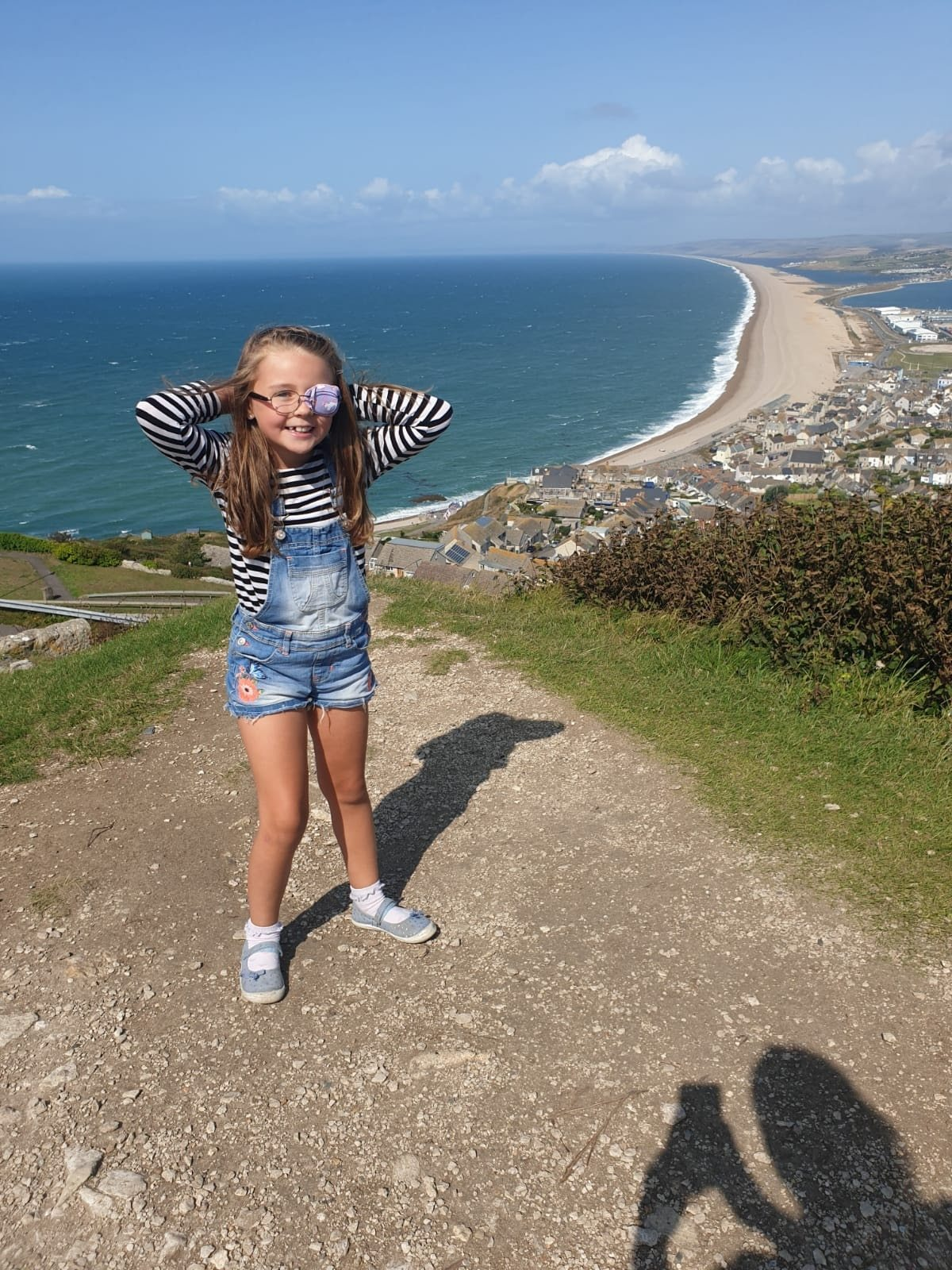 Annabelle was initially ok after the fall, but a few days later she started suffering headaches and was vomiting