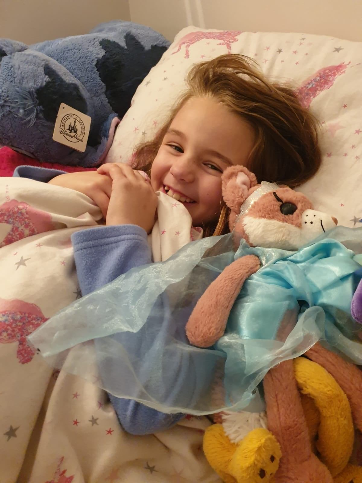 Annabelle had 10-hour surgery in April last year