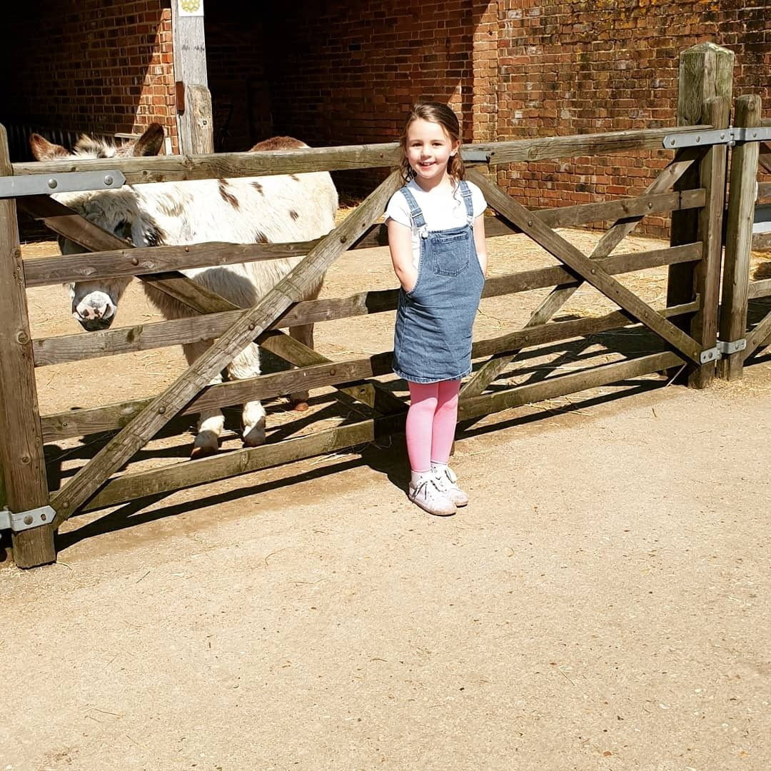 Annabelle – who now has scans every six months - went back to school part-time in June and was full-time by September