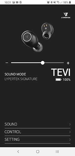 Lypertek TEVI App