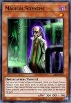 Yugioh banned list card Magical Scientist