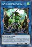 Yugioh banned list card Knightmare Goblin