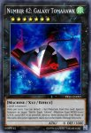Yugioh banned list card Number 42: Galaxy Tomahawk