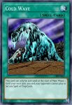 Yugioh banned list card Cold Wave