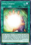 Yugioh banned list card Soul Charge