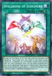 Yugioh banned list card Spellbook of Judgment