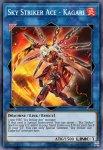 Yugioh banned list card Sky Striker Ace – Kagari