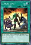Yugioh banned list card A Hero Lives