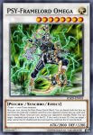 Yugioh banned list card PSY-Framelord Omega