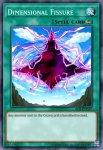 Yugioh banned list card Dimensional Fissure