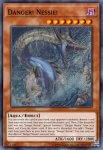 Yugioh banned list card Danger! Nessie!