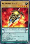 Yugioh banned list card Qliphort Scout