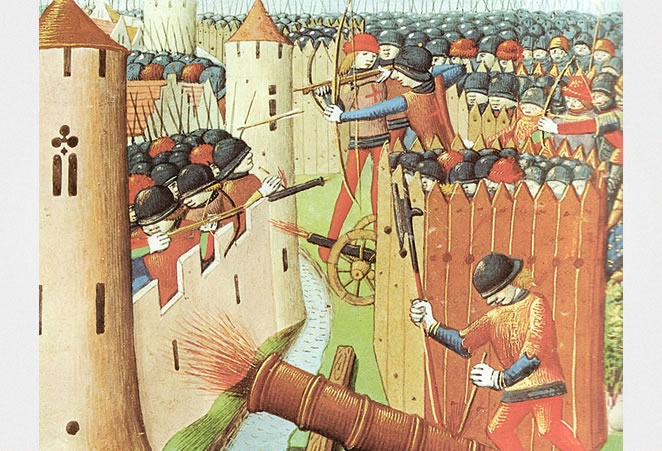 The siege of Orléans