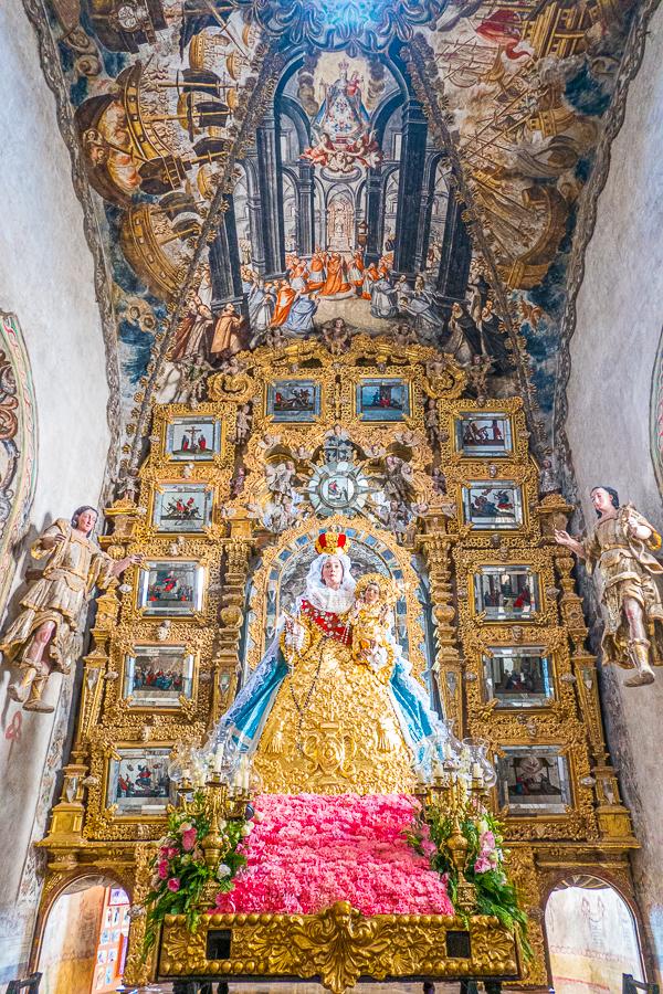 Sanctuary of Atotonilco Inside