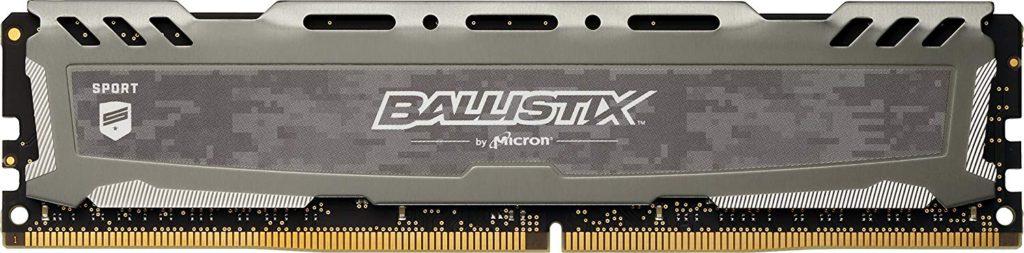 Ballistix Sport LT 8GB Single