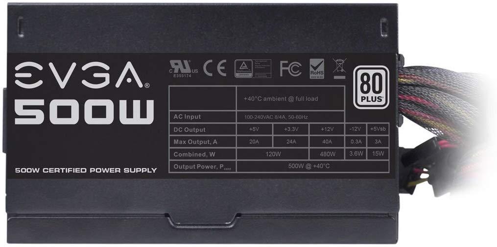 EVGA 500W W1 80+