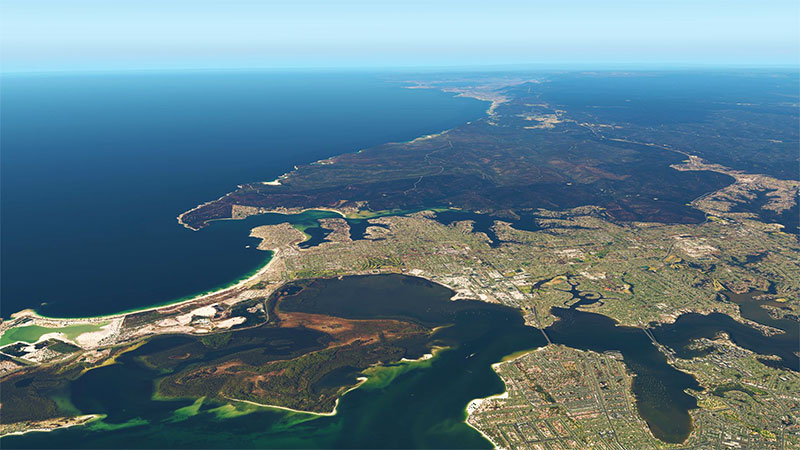 Australia complete photoreal in XP11.