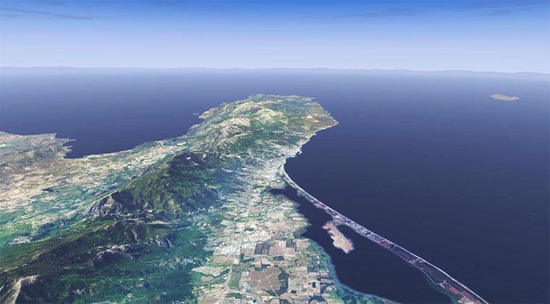 Corsica Island.