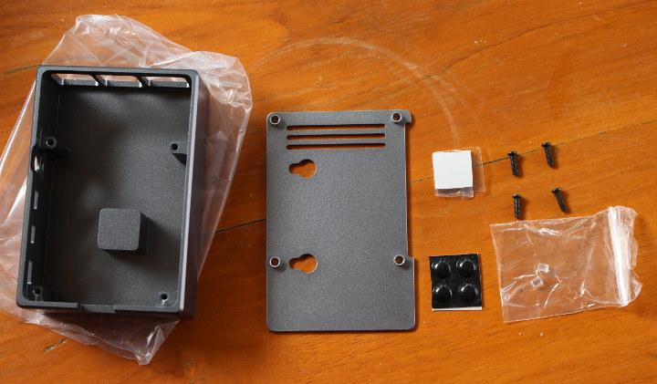 KKSB Raspberry Pi 4 Case Aluminum 720