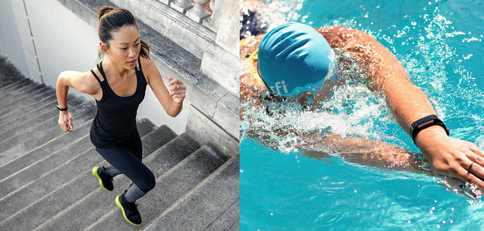 best fitbit for running and swimming